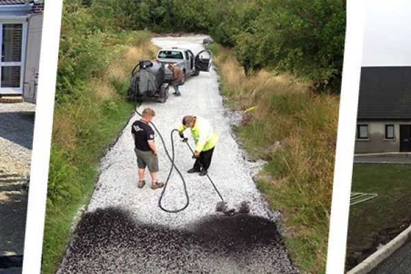 Tar and Chip Driveways